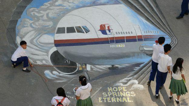 Pintura MH370