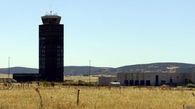 El aeropuerto de Ciudad Real (España) costó US$500 millones.