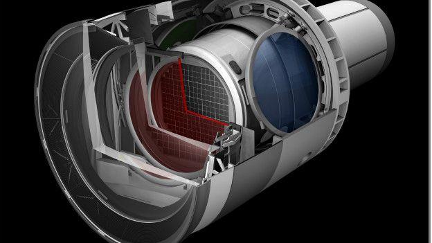 cáamra del telescopio