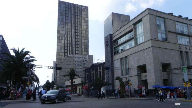 Avenida Juárez en Ciudad de México.