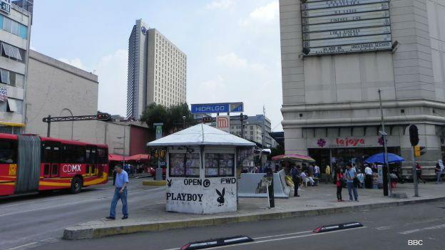 Esquina de Balderas y Reforma, 30 años después del sismo de 1985