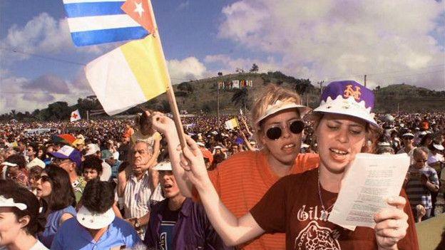 Misa en Santa Clara, Cuba