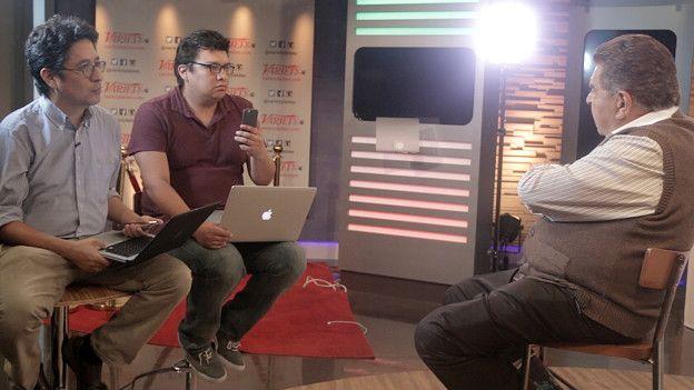 La entrevista con BBC Mundo