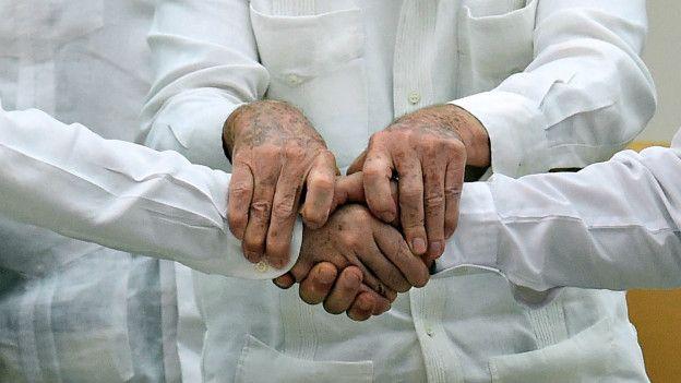 Resultado de imagen para fotos de firmado de paz en colombia