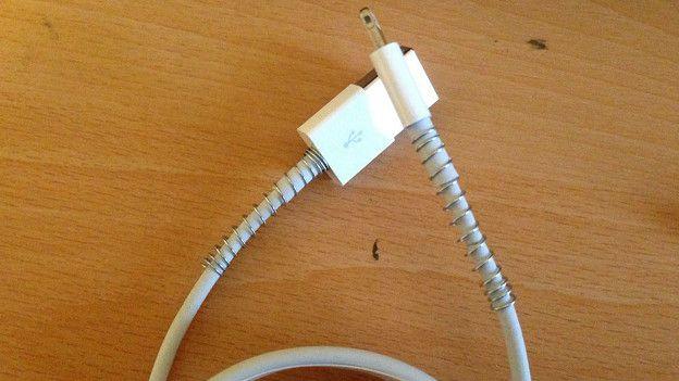 Un cable reforzado en forma casera