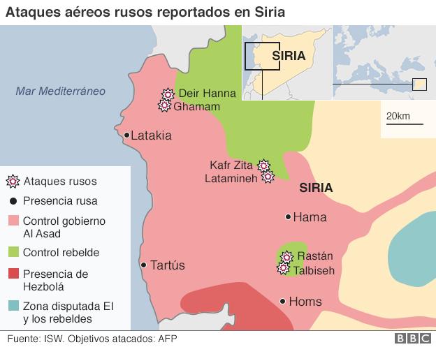 El Mapa Que Muestra Quién Controla Qué Territorios En Siria Bbc