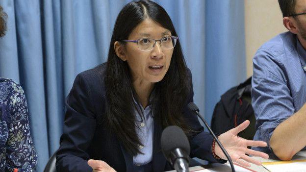 Joanne Liu, presidenta de Médicos sin Frontera