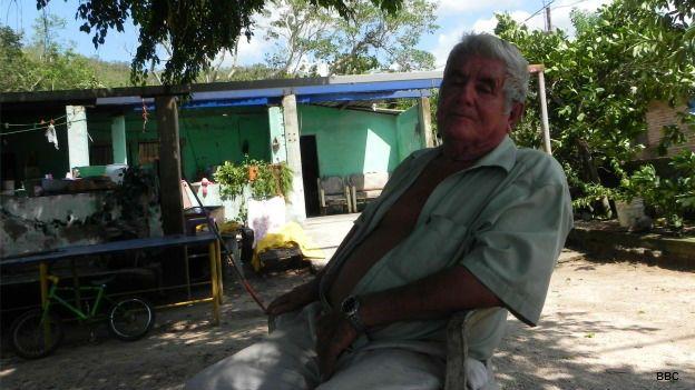 Antonio Espinoza, vecino del pueblo Emiliano Zapata