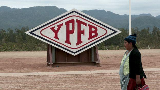 Aviso de la petrolera estatal YPFB