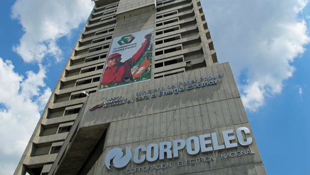 Edificio de Corpoelec en Caracas