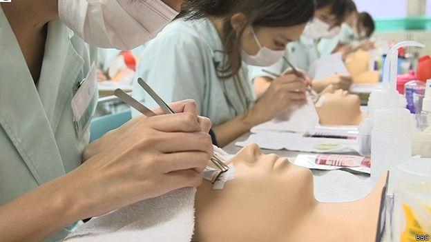 Escuela de belleza en Japón