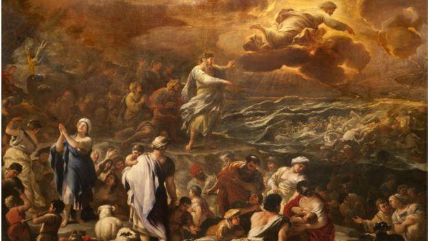 A travessia do Mar Vermelho e outras passagens dos Dez