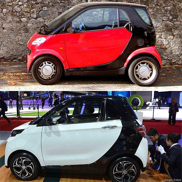 Smart y Zotye E30
