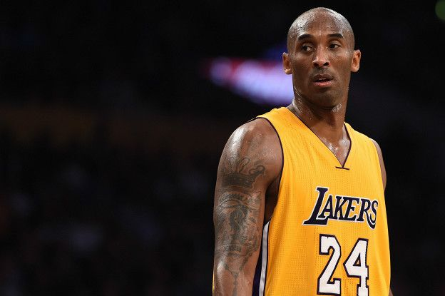 low priced 08d6a 61223 Derechos de autor de la imagen Getty Image caption Bryant logró cinco  títulos de la NBA con los ...