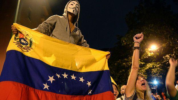Resultado de imagen para foto del triunfo de la oposicion en venezuela