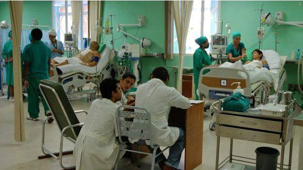 В кубинской больнице
