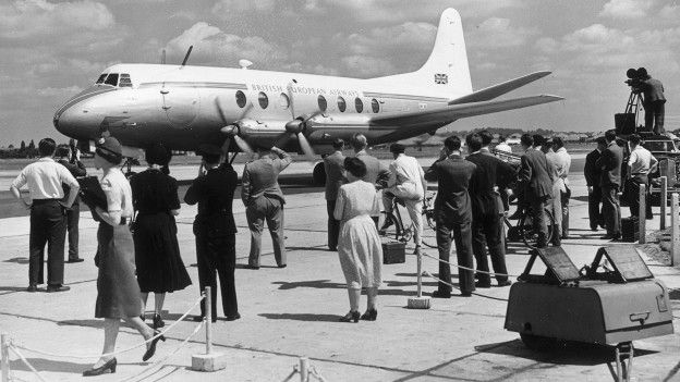 Avión Vickers Viscount