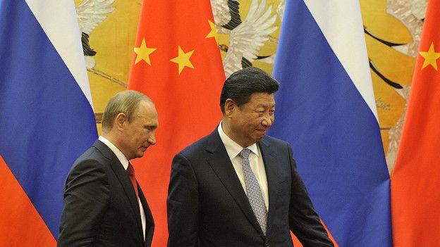 Putin y Xi Jinping