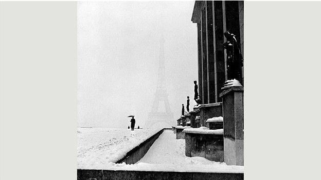 """Ли Миллер """"Париж в снегу"""""""