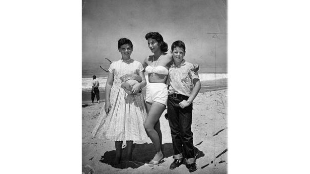 Геді Ламарр зі своїми дітьми