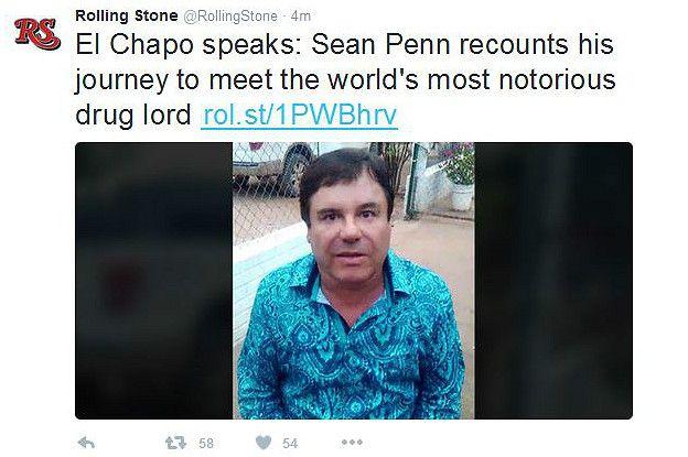 La Sorpresiva Entrevista Que Le Dio Joaquín El Chapo Guzmán A Sean