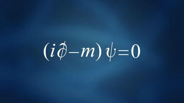 Resultado de imagen de La ecuación de Dirac