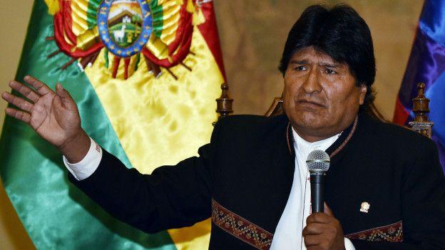 Evo Morales pidió