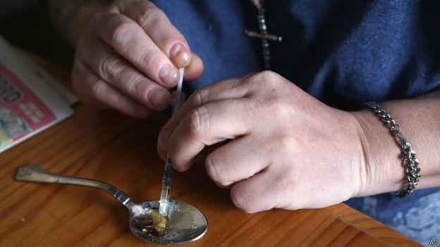 Manipulación de heroína