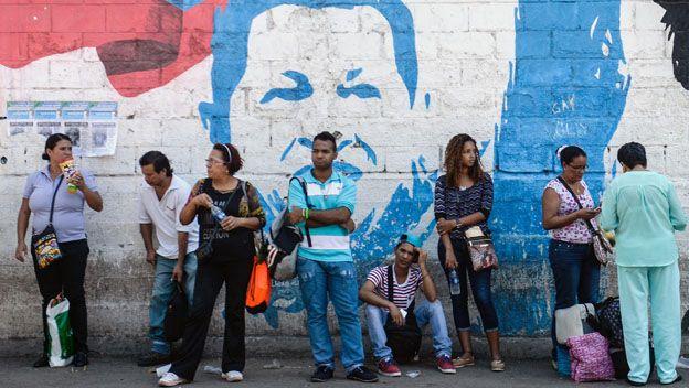 Filas en Venezuela
