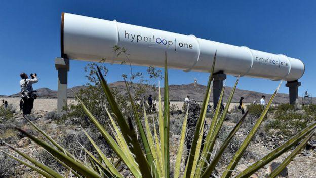 Tubo del Hyperloop