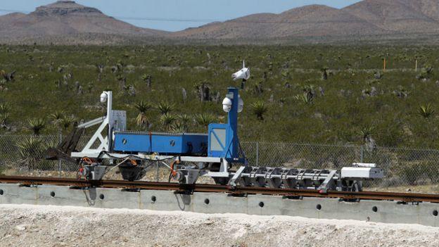 El minivagón de Hyperloop