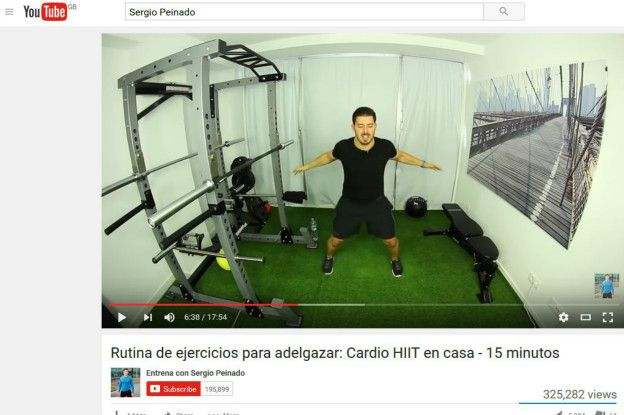 rutina de ejercicios para adelgazar gym virtual