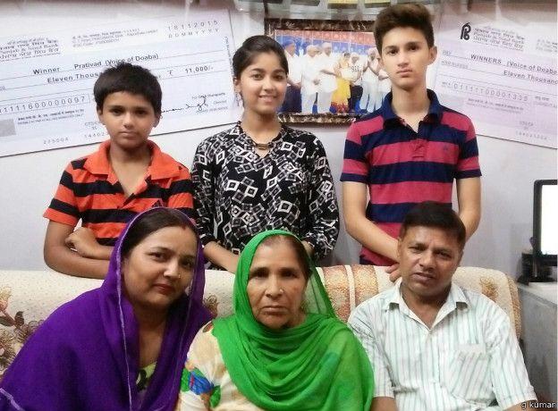 गिन्नी माही अपने परिवार के साथ