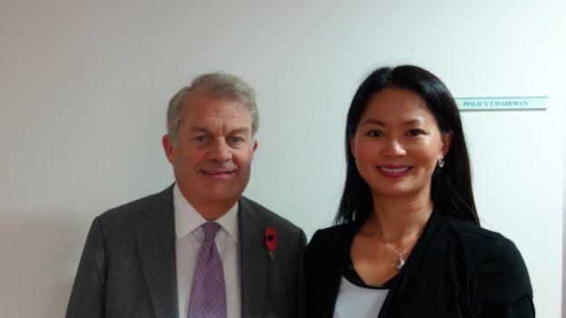 BBC体育官网英伦网特约撰稿人何越访问伦敦金融城主席包墨凯