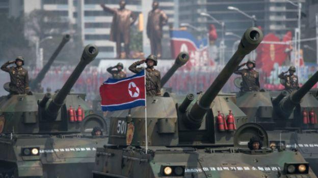 Tanques de Corea del Norte.