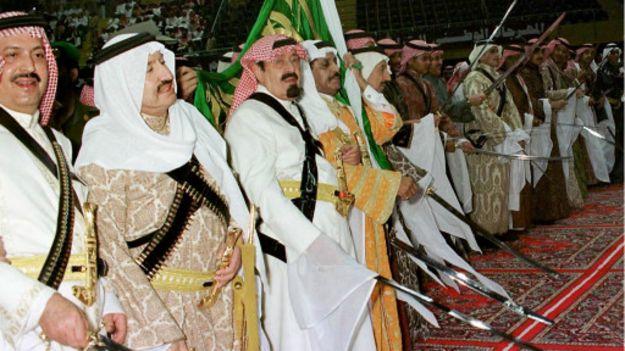 وفاة الملك السعودي عبد الله بن عبد العزيز ومبايعة الأمير سلمان خلفا له