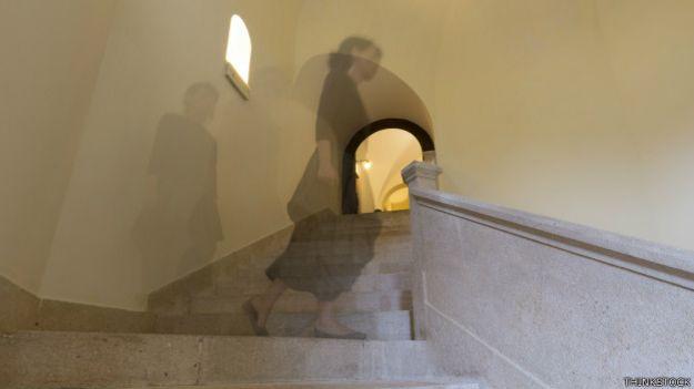 Una imagen que sugiere un fantasma