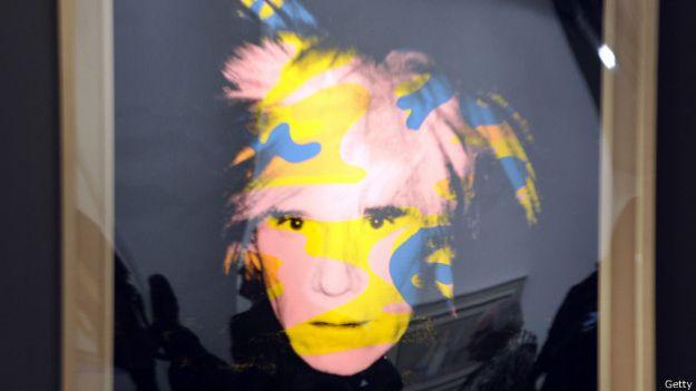 портрет Энди Уорхолла