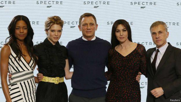 """El elenco de """"Spectre"""""""