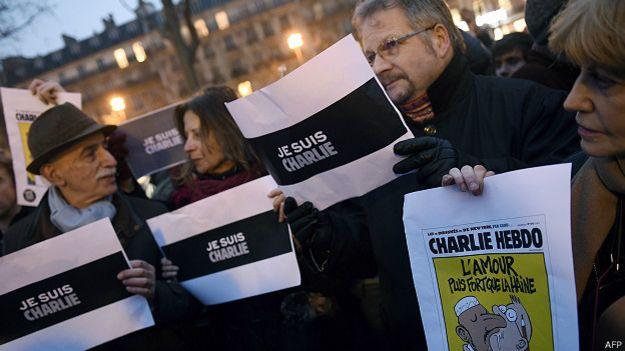 Solidaridad con Charlie Hebdo