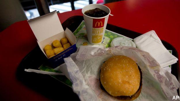 Arepitas en McDonald's de Venezuela
