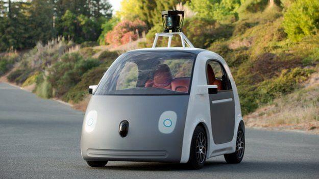 Auto sin chofer del Google