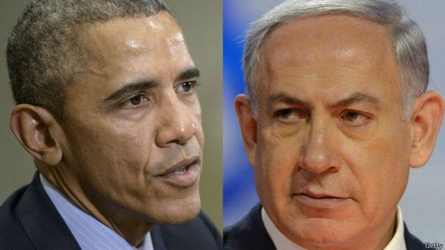 Barack Obama y Benjamin Netanyahu