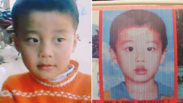 Niño desaparecido, hijo de Xiao