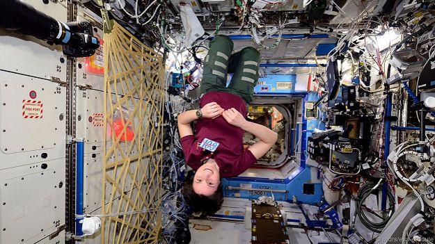 На орбитальной космической станции