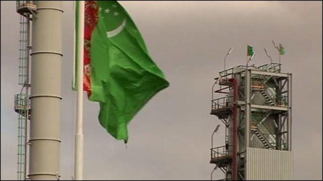 Туркменский флаг