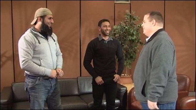 Встреча охранника с бывшими заключенными Гуантанамо