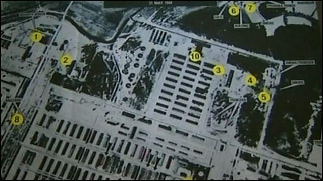 План лагеря Освенцим