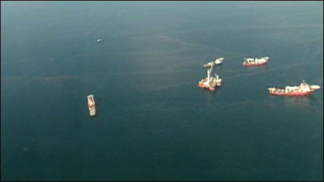 Ликвидация последствий разлива нефти в Мексиканском заливе