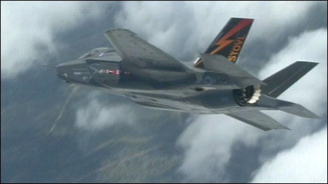Самолет-невидимка F35
